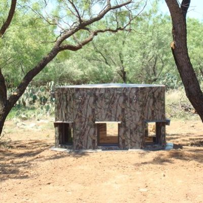 MB Ranch King Inground Deer Blind