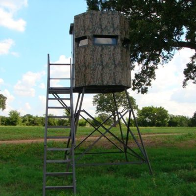 MB Ranch King Deer Blind Stairs