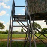 MB Ranch King Deer Blind Stairs
