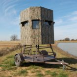 North Texas Deer Blind with ATV