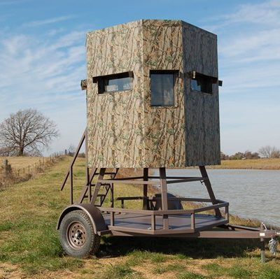 North Texas Deer Blind Trailer