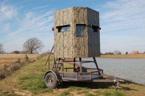 North Texas Deer Blind Trailer