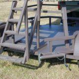 North Texas Deer Blind Trailer Stairs