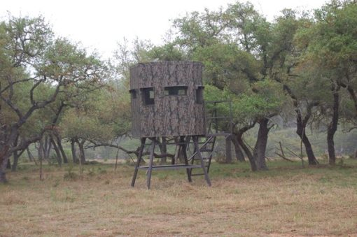 North Texas Deer Blind