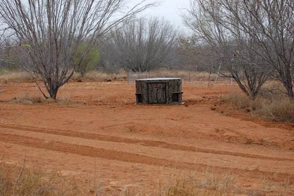 In Ground Deer Blind For Bow Hunters North Texas Deer Blinds