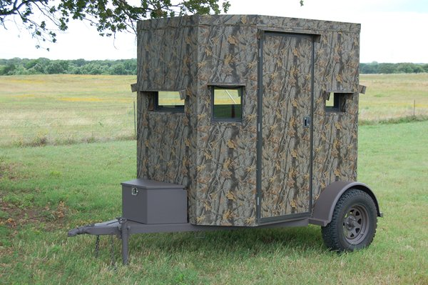 Trailer Deer Blinds 6 By 8 Trailer Deer Blind North