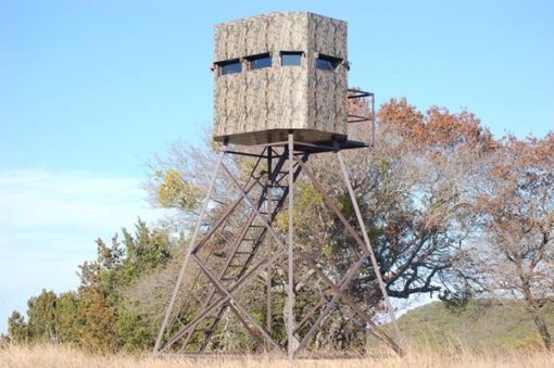 Insulated North Texas Deer Blind