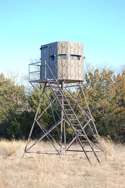 Insulated Deer Blinds - 6' by 6' Deer Blind - North Texas ...