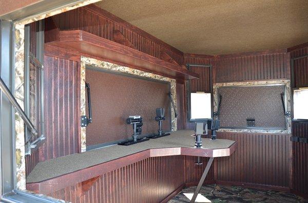Range Bandit Shooting House North Texas Deer Blinds