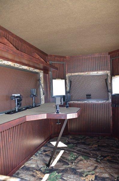 Range Bandit Shoot House Trailer Interior