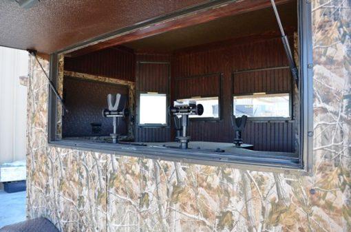 Range Bandit Shoot House Trailer Interior Opening