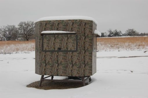 Range Bandit Shooting House in snow