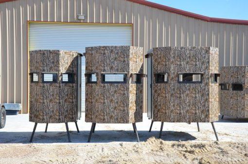 Three MB Ranch King Deer Blinds