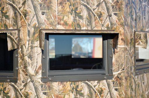 North Texas Deer Blind Window