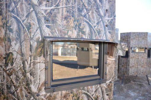 MB Ranch King North Texas Deer Blind Window