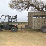 MB Ranch King Wheelchair Accessible Deer Blind with ATV