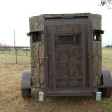 North Texas Wheelchair Accessible Deer Blind With Ramp
