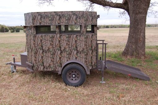 North Texas Wheelchair Accessible Deer Blind