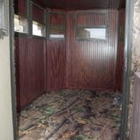 North Texas Wheelchair Accessible Deer Blind Interior