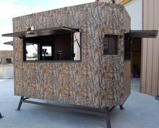 Range Bandit Shooting House Large Windows Open