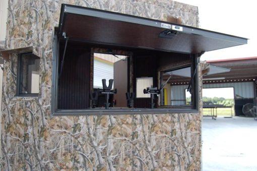 Range Bandit Shooting House Large Window Detail