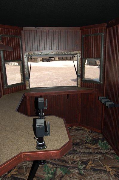 Range Bandit Shooting House Interior