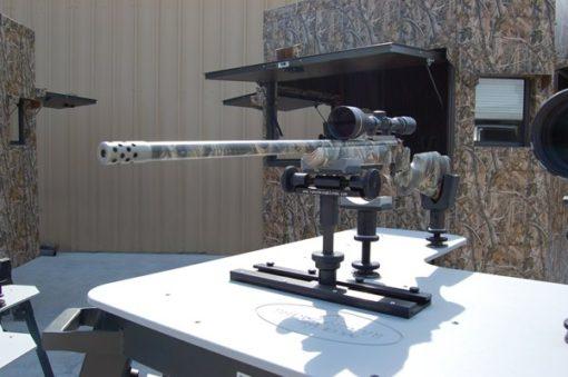 Range Bandit Shooting Bench With Rifle