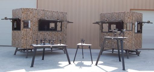 Range Bandit Shooting House and tables
