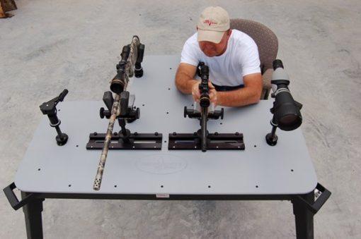 Double Range Bandit Shooting Bench