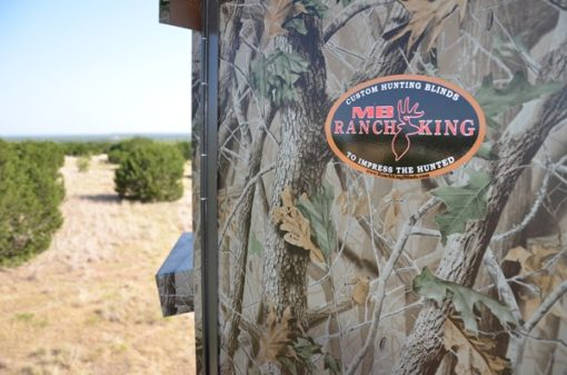 Insulated Deer Blind MB Ranch King