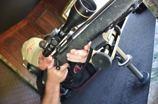 Man Shooting From Range Bandit Shooting House