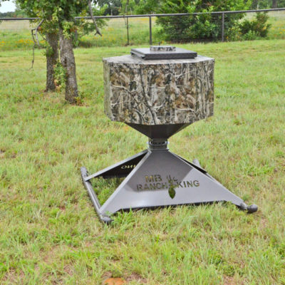 Mighty Midget Protein Deer Feeder with Remote - North Texas