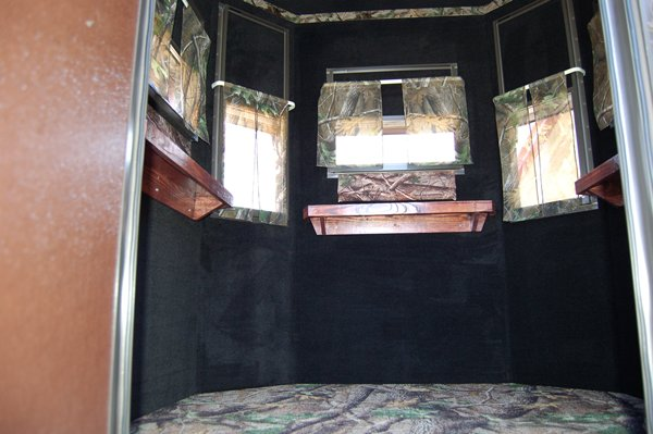 King Ranch Texas >> Trailer Deer Blinds - Elevated Trailer Deer Blind - North Texas Deer Blinds