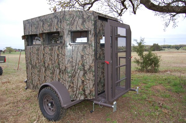 Trailer Deer Blinds Wheelchair Accessible Deer Blind