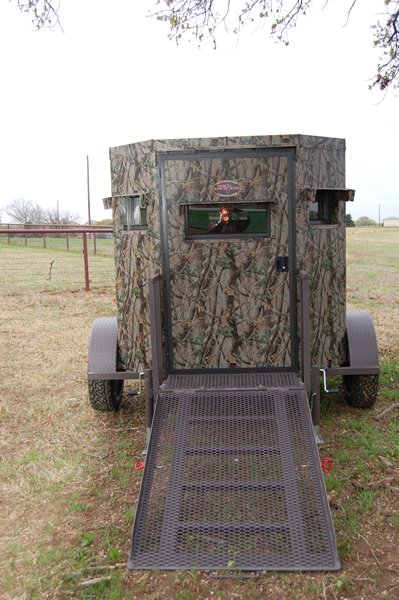 King Ranch Texas >> Trailer Deer Blinds - Wheelchair Accessible Deer Blind ...